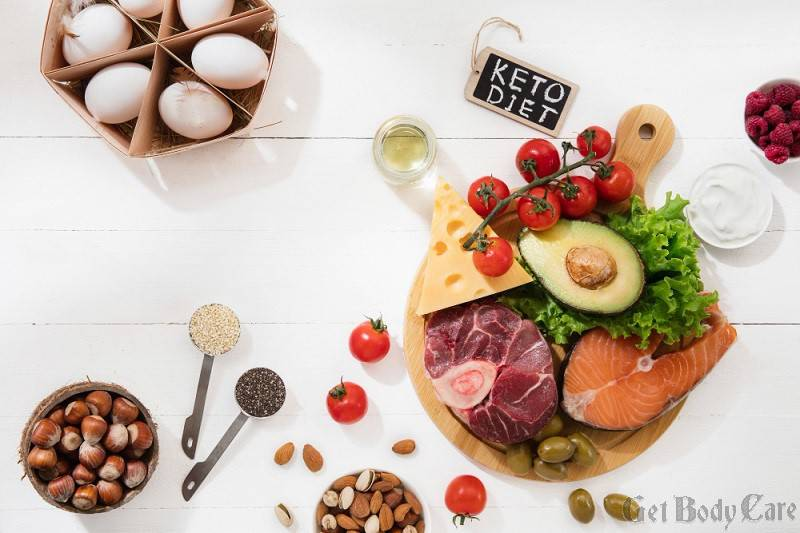 ketogenic-low-carbs-diet-food-selection-white-wall