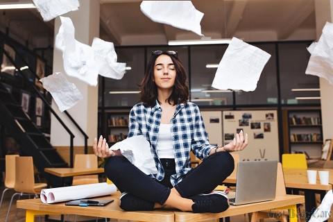 scattered thinking meditation