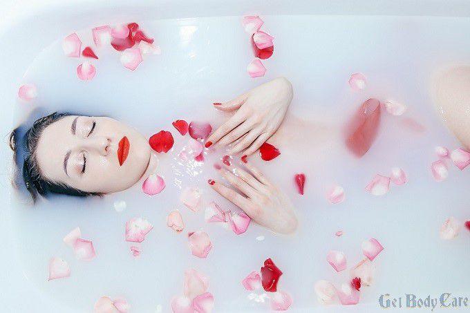 rose water relaxing